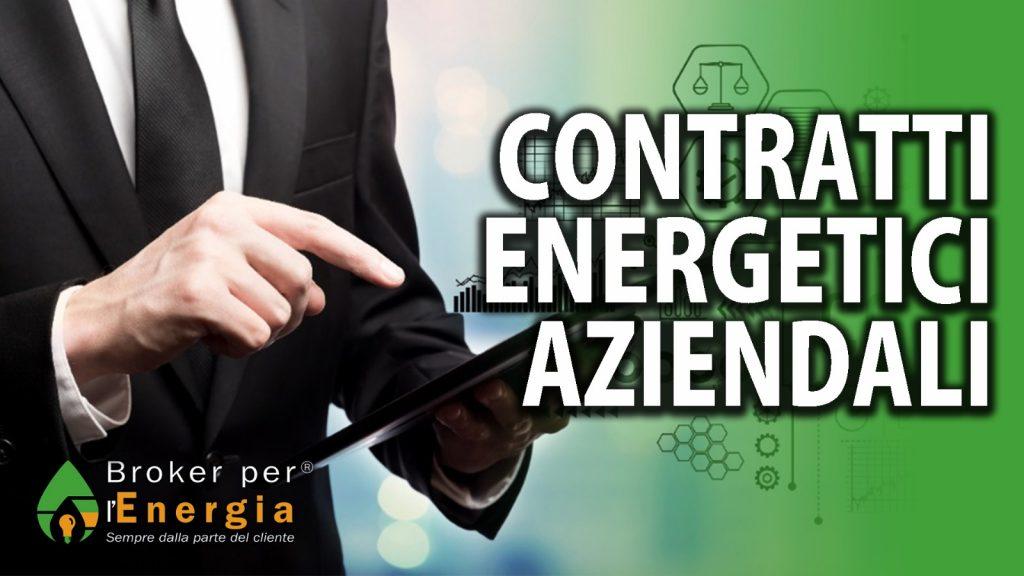 contratti energetici aziendali